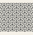 seamless lines pattern modern stylish triangle vector image vector image