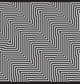 seamless pattern of lines and shapes vector image