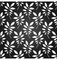 seamless leaves wallpaper vector image