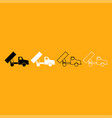 dumper it is white icon vector image vector image