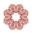 elegance greeting card with arabesque vector image vector image