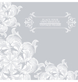 Elegance vintage card place for text or message vector image vector image