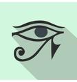 Eye of Horus icon flat style vector image vector image