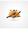 food restaurant symbol icon vector image vector image