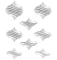 Helical Swirl vector image vector image