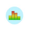Indicator icon diagram icon