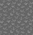Seamless pattern background of hand drawn doodle vector image vector image