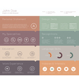 Simple template for you resume vector image vector image