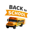 stock back to school vector image