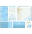 Wedding stationery vector image