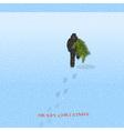 Wintertime vector image vector image