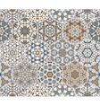 Eastern seamless pattern tiles vector image vector image