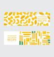 homemade macaroni banner vector image