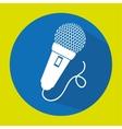 microphone speak talk audio vector image