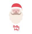 santa claus christmas character vector image vector image