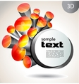 abstract background Design template vector image