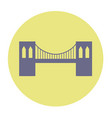 brooklyn bridge vector image