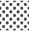 concept brain smart pattern seamless vector image vector image