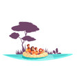 family active holidays raft vector image vector image
