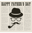 Fathers newspaper vector image
