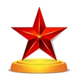 Modern Star Award Shiny vector image vector image