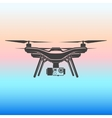 quadrocopter icon vector image