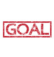 stamp text goal vector image