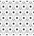 abstract simple pattern of circles and dots vector image