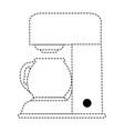 coffee machine isolated icon vector image vector image