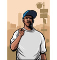 Gangster pointing hand vector | Price: 3 Credits (USD $3)