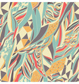 Hand drawn abstract composition vector image