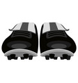 isolated soccer shoes icon vector image vector image