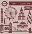Landmark of London vector image vector image