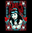 lolita vector image vector image