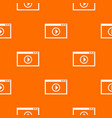 program for video playback pattern seamless vector image vector image