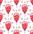 Seamless pattern with cute cartoon balloons vector image vector image