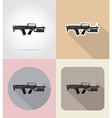 weapon flat icons 09 vector image vector image