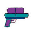 weapon water toy plastic play element vector image