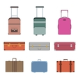 Travel Bag Set vector image