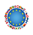 European Union sign vector image