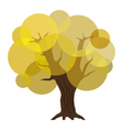 Abstract autumn tree eps10 vector image vector image