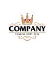 alcohol beverage company concept vector image