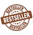bestseller brown grunge round vintage rubber stamp vector image vector image