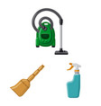 design cleaning and service sign set of vector image