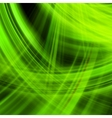 Green energy jet background EPS 10 vector image vector image