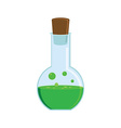 Green potion vector image vector image
