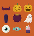 halloween celebration design vector image