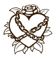 Old vintage tattoo vector image vector image