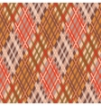 Seamless tartan pattern Diagonal fall palette vector image vector image