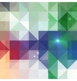 Abstract triangles shining background vector image